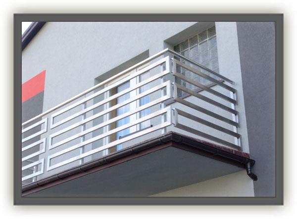 Wszystkie nowe MojaBudowa.pl wpis: Balustrady balkonowe ze stali nierdzewnej VG85